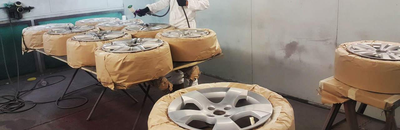 Alloy Wheel Painting Milton Keynes